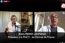 FNCV - Vitrines de France : Le président en direct !